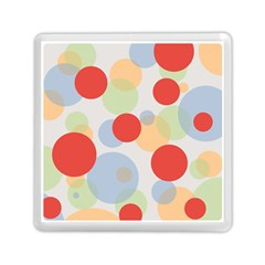 Contrast Analogous Colour Circle Red Green Orange Memory Card Reader (square)  by Alisyart