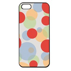 Contrast Analogous Colour Circle Red Green Orange Apple Iphone 5 Seamless Case (black) by Alisyart