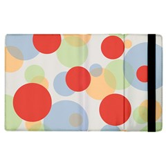 Contrast Analogous Colour Circle Red Green Orange Apple Ipad 3/4 Flip Case by Alisyart