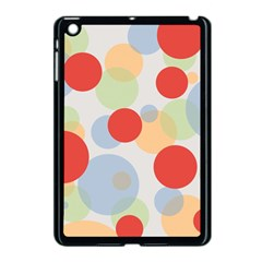 Contrast Analogous Colour Circle Red Green Orange Apple Ipad Mini Case (black) by Alisyart
