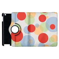 Contrast Analogous Colour Circle Red Green Orange Apple Ipad 3/4 Flip 360 Case by Alisyart