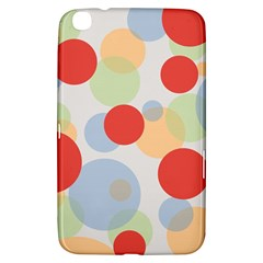 Contrast Analogous Colour Circle Red Green Orange Samsung Galaxy Tab 3 (8 ) T3100 Hardshell Case  by Alisyart