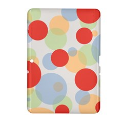 Contrast Analogous Colour Circle Red Green Orange Samsung Galaxy Tab 2 (10 1 ) P5100 Hardshell Case
