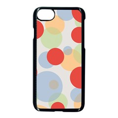 Contrast Analogous Colour Circle Red Green Orange Apple Iphone 7 Seamless Case (black)