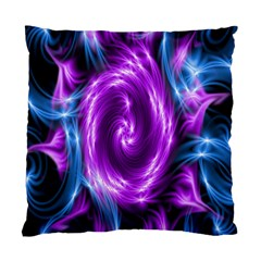 Colors Light Blue Purple Hole Space Galaxy Standard Cushion Case (two Sides) by Alisyart