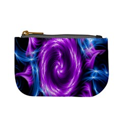 Colors Light Blue Purple Hole Space Galaxy Mini Coin Purses by Alisyart