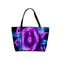 Colors Light Blue Purple Hole Space Galaxy Shoulder Handbags by Alisyart