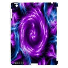 Colors Light Blue Purple Hole Space Galaxy Apple Ipad 3/4 Hardshell Case (compatible With Smart Cover) by Alisyart
