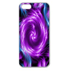 Colors Light Blue Purple Hole Space Galaxy Apple Seamless Iphone 5 Case (clear) by Alisyart