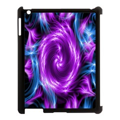 Colors Light Blue Purple Hole Space Galaxy Apple Ipad 3/4 Case (black) by Alisyart