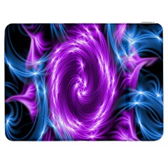 Colors Light Blue Purple Hole Space Galaxy Samsung Galaxy Tab 7  P1000 Flip Case by Alisyart