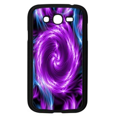 Colors Light Blue Purple Hole Space Galaxy Samsung Galaxy Grand Duos I9082 Case (black)