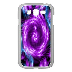 Colors Light Blue Purple Hole Space Galaxy Samsung Galaxy Grand Duos I9082 Case (white)