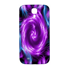 Colors Light Blue Purple Hole Space Galaxy Samsung Galaxy S4 I9500/i9505  Hardshell Back Case