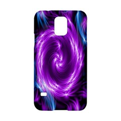 Colors Light Blue Purple Hole Space Galaxy Samsung Galaxy S5 Hardshell Case
