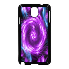 Colors Light Blue Purple Hole Space Galaxy Samsung Galaxy Note 3 Neo Hardshell Case (black)