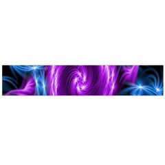 Colors Light Blue Purple Hole Space Galaxy Flano Scarf (large) by Alisyart