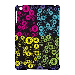 Circle Ring Color Purple Pink Yellow Blue Apple Ipad Mini Hardshell Case (compatible With Smart Cover) by Alisyart