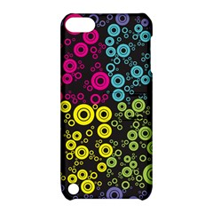 Circle Ring Color Purple Pink Yellow Blue Apple Ipod Touch 5 Hardshell Case With Stand by Alisyart