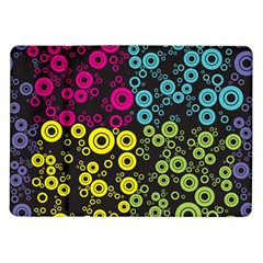 Circle Ring Color Purple Pink Yellow Blue Samsung Galaxy Tab 10 1  P7500 Flip Case by Alisyart