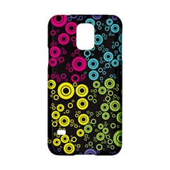 Circle Ring Color Purple Pink Yellow Blue Samsung Galaxy S5 Hardshell Case  by Alisyart