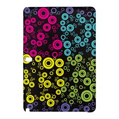 Circle Ring Color Purple Pink Yellow Blue Samsung Galaxy Tab Pro 12 2 Hardshell Case by Alisyart