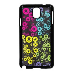 Circle Ring Color Purple Pink Yellow Blue Samsung Galaxy Note 3 Neo Hardshell Case (black) by Alisyart