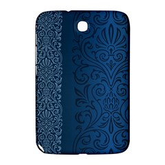 Fabric Blue Batik Samsung Galaxy Note 8 0 N5100 Hardshell Case