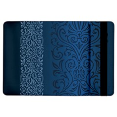 Fabric Blue Batik Ipad Air 2 Flip by Alisyart