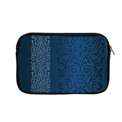 Fabric Blue Batik Apple Macbook Pro 13  Zipper Case by Alisyart