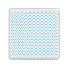 Free Plushie Wave Chevron Blue Grey Gray Memory Card Reader (square)