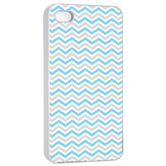 Free Plushie Wave Chevron Blue Grey Gray Apple Iphone 4/4s Seamless Case (white) by Alisyart
