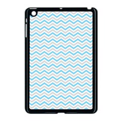 Free Plushie Wave Chevron Blue Grey Gray Apple Ipad Mini Case (black) by Alisyart