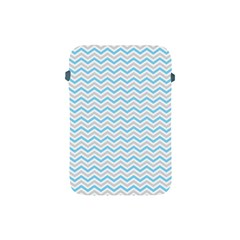Free Plushie Wave Chevron Blue Grey Gray Apple Ipad Mini Protective Soft Cases by Alisyart