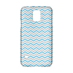Free Plushie Wave Chevron Blue Grey Gray Samsung Galaxy S5 Hardshell Case  by Alisyart