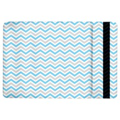Free Plushie Wave Chevron Blue Grey Gray Ipad Air 2 Flip by Alisyart