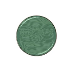Illustration Green Grains Line Hat Clip Ball Marker (10 Pack) by Alisyart
