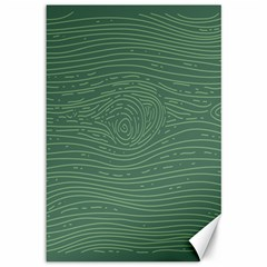 Illustration Green Grains Line Canvas 12  X 18   by Alisyart
