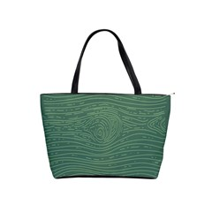 Illustration Green Grains Line Shoulder Handbags by Alisyart