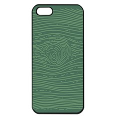 Illustration Green Grains Line Apple Iphone 5 Seamless Case (black) by Alisyart