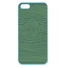 Illustration Green Grains Line Apple Seamless Iphone 5 Case (color) by Alisyart