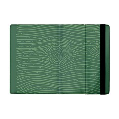 Illustration Green Grains Line Apple Ipad Mini Flip Case by Alisyart