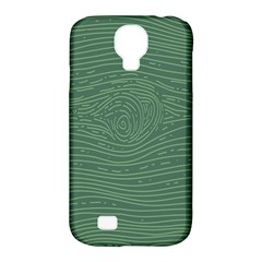 Illustration Green Grains Line Samsung Galaxy S4 Classic Hardshell Case (pc+silicone)