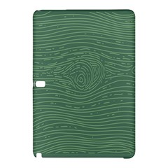 Illustration Green Grains Line Samsung Galaxy Tab Pro 12 2 Hardshell Case by Alisyart
