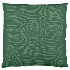 Illustration Green Grains Line Standard Flano Cushion Case (one Side) by Alisyart