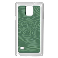Illustration Green Grains Line Samsung Galaxy Note 4 Case (white) by Alisyart