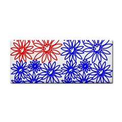 Flower Floral Smile Face Red Blue Sunflower Cosmetic Storage Cases