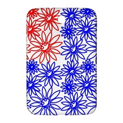 Flower Floral Smile Face Red Blue Sunflower Samsung Galaxy Note 8 0 N5100 Hardshell Case  by Alisyart