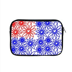 Flower Floral Smile Face Red Blue Sunflower Apple Macbook Pro 15  Zipper Case by Alisyart