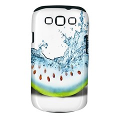 Fruit Water Slice Watermelon Samsung Galaxy S Iii Classic Hardshell Case (pc+silicone) by Alisyart